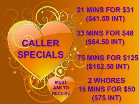 phone chat lines specials
